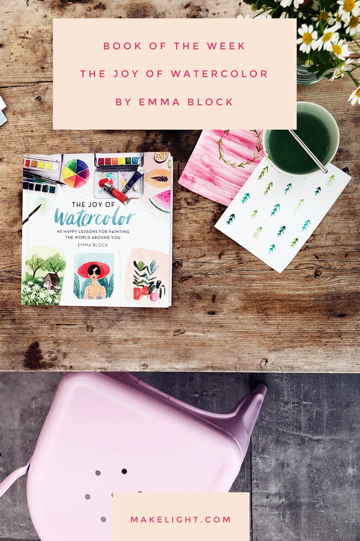 A gorgeous new guide to watercolour